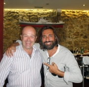 Con Antonio Carmona