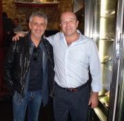 Con Sergio Dalma