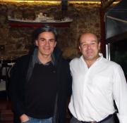 Con el cantautor Cántabro Nando Agüeros